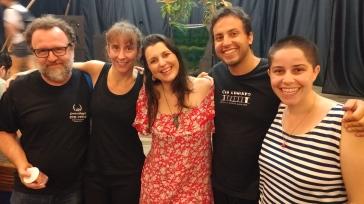 FENATIB 2016 - Encontro com os amigos sombristas da Cia Lumiato - Brasília