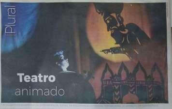 Clipagem Jornal Notícias do dia - Contracapa ND